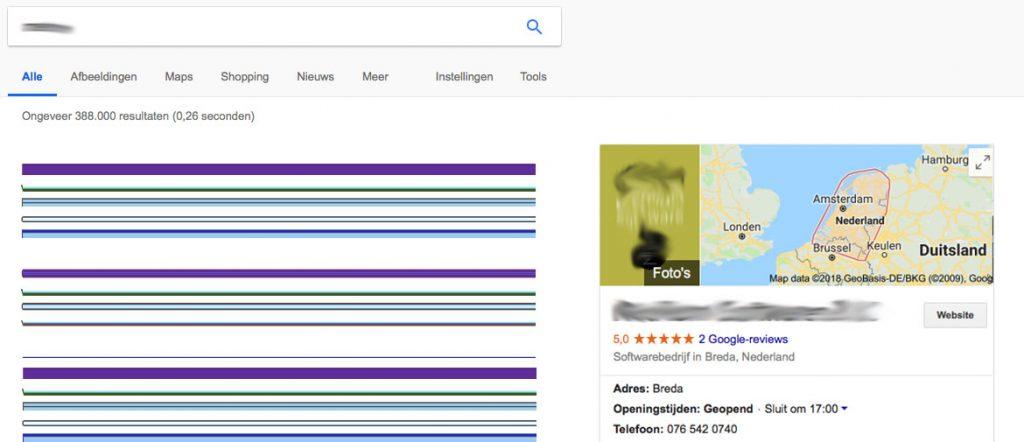 Google My Business zonder adresgegevens