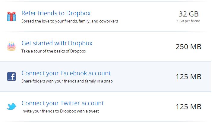 dropbox gamification