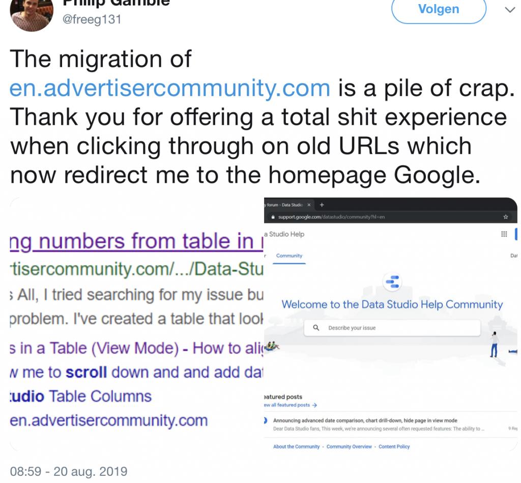 3 voorbeelden van pijnlijk mislukte website SEO migraties