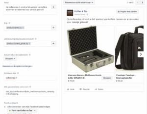 Adverteren op Facebook: Campagnesettings