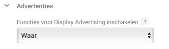 Advertentie functies