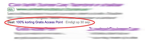 Google Ads promotie