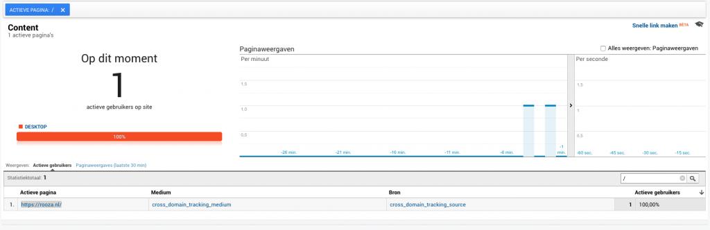 Cross domain tracking met Google Analytics en Tag Manager