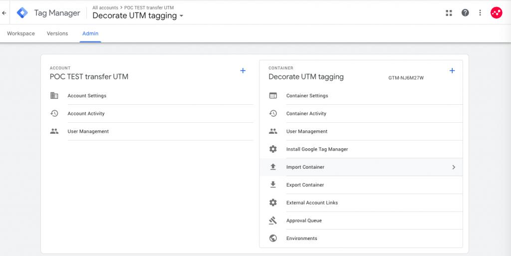 """UTM-parameters """"doorgeven"""" tussen websites"""