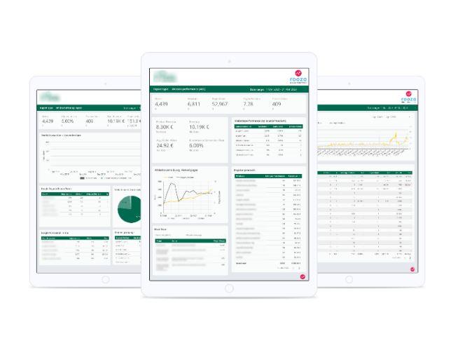 Dashboarding & analytics