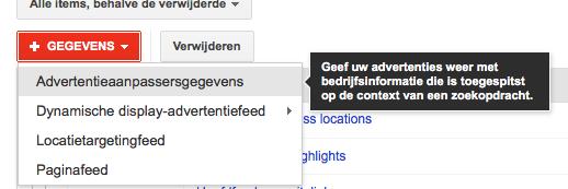 Plaatsnaam verwerken in Adwords advertentieteksten